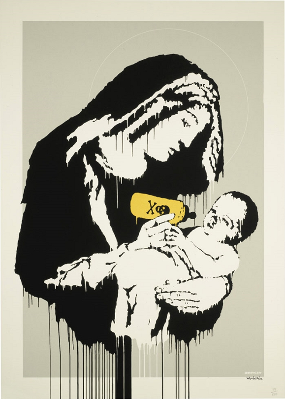 Banksy, Toxic Mary, 2005
