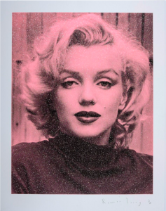 Russell Young, Marilyn Hollywood (Pink), 2019