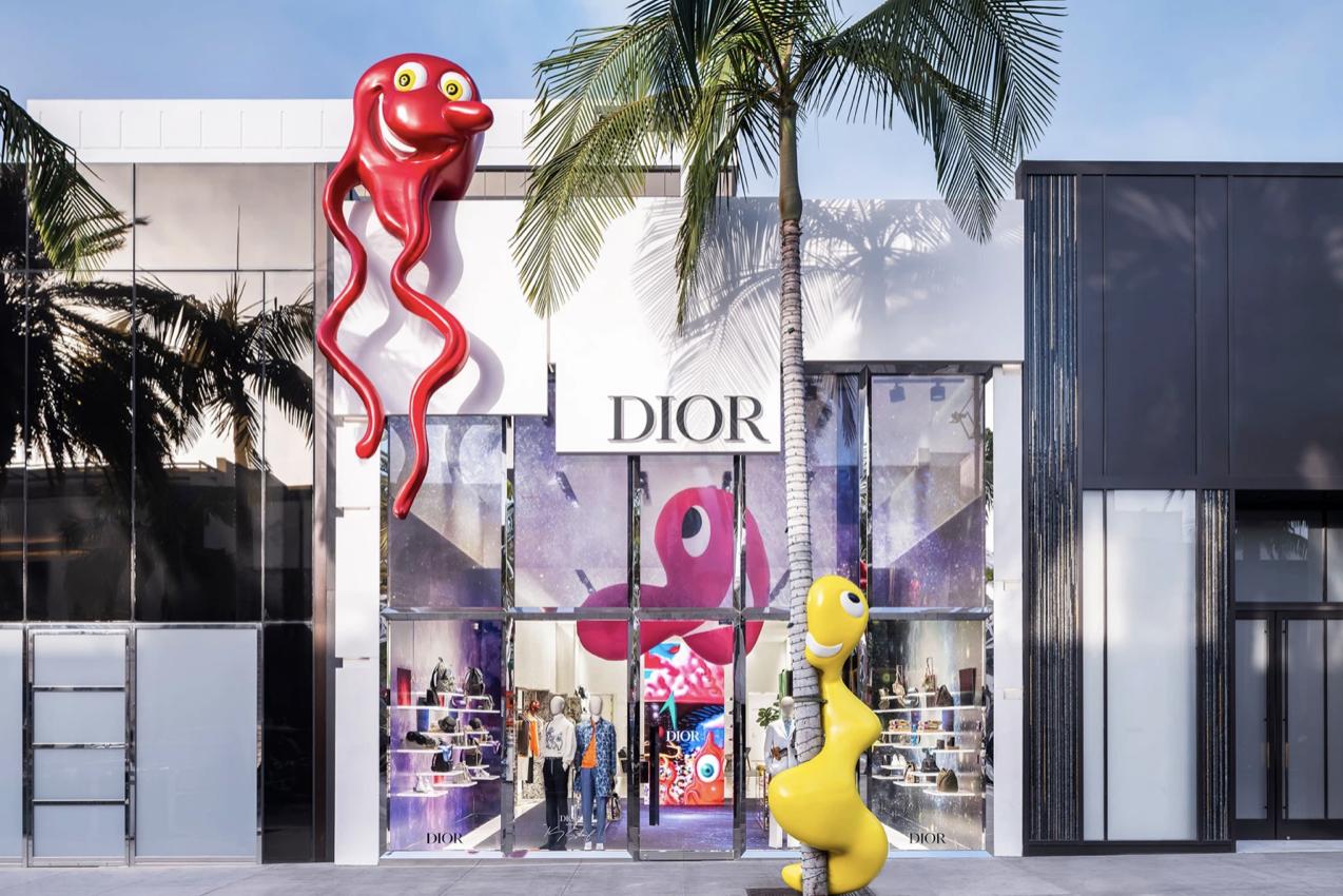 Dior Homme x Kenny Scharf
