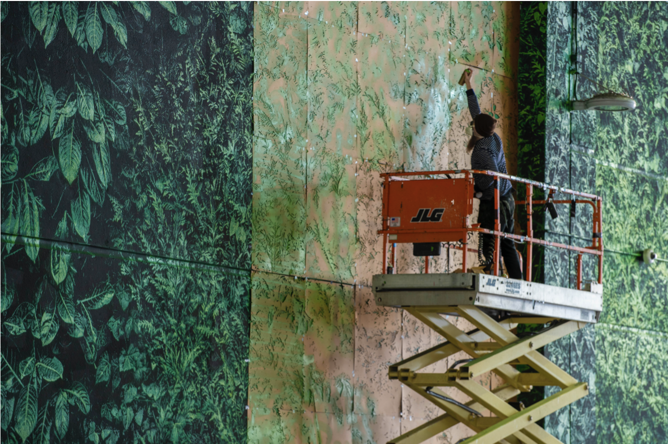Logan Hicks, Tunnel Vision – The World's Largest Stencilled Mural